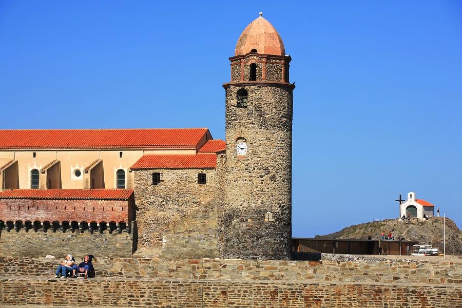 La forteresse médiévale de Collioure