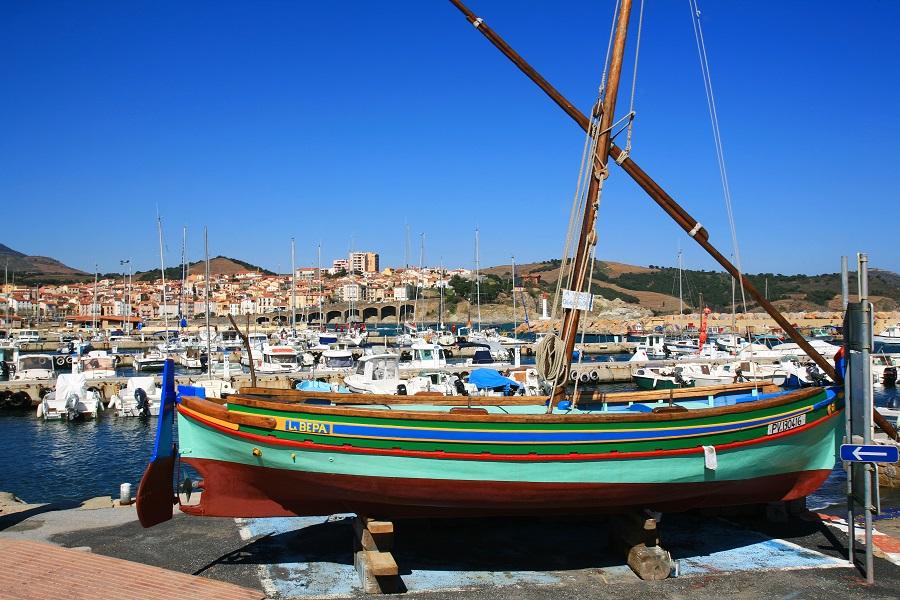 Le port coloré de Banyuls