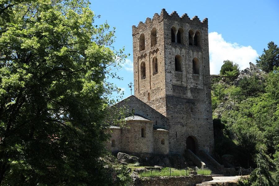 L'abbaye Saint-Martin-du-Canigou