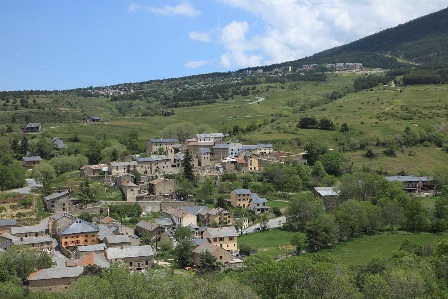 Eyne, petit village du Capcir