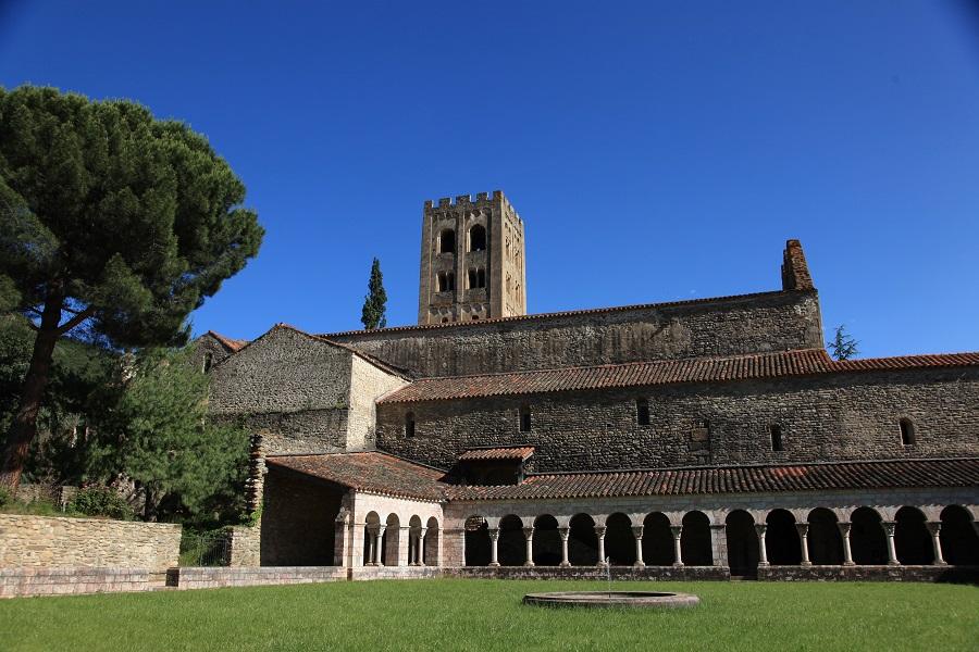 L'abbaye Saint-Michel-de-Cuxa à Codalet