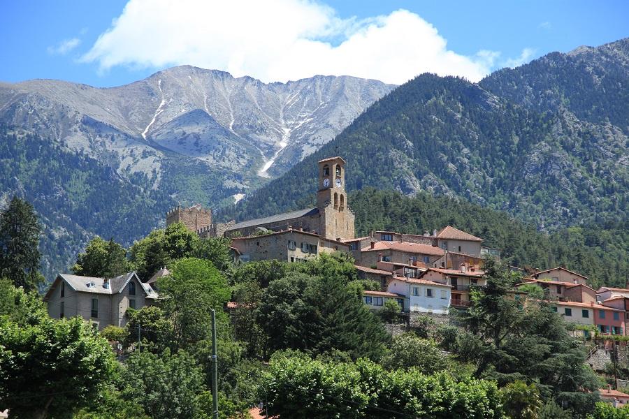 Le village de Vernet-les-Bains