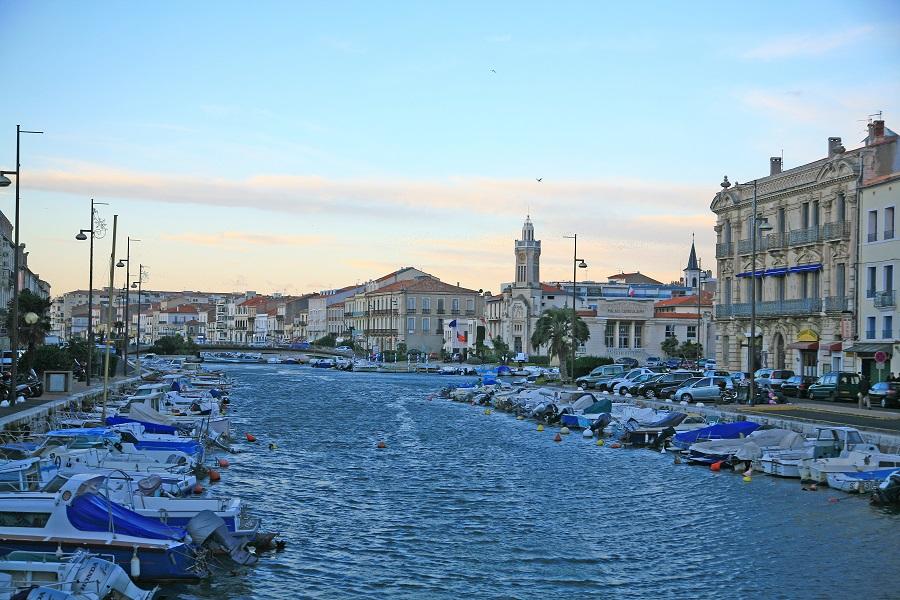La pittoresque cité de Sète
