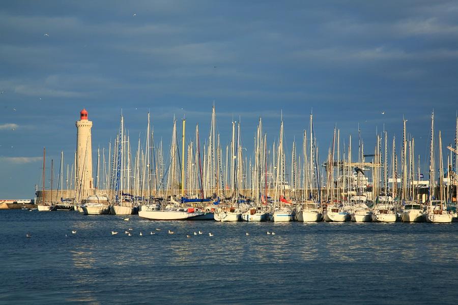 Le port de Sète dans le Golfe du Lion