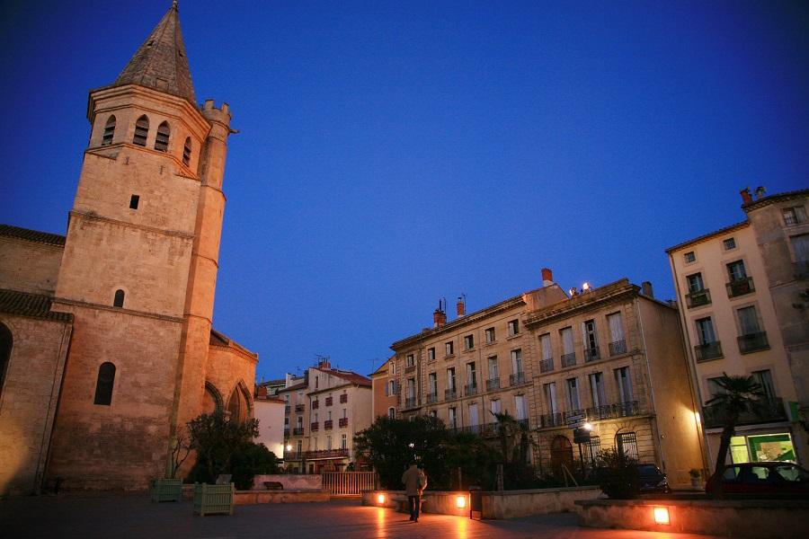 L'église de la Madeleine à Béziers