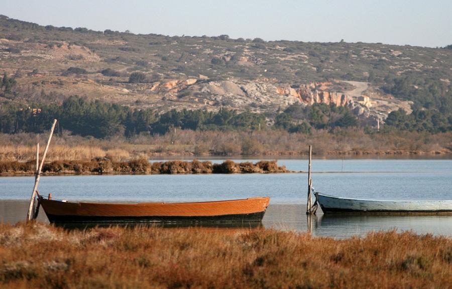 L'étang de La Palme dans l'Aude