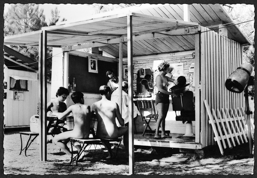 Camping naturiste dans les années 70