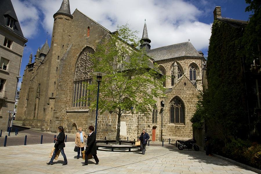 La cathédrale de St-Brieuc