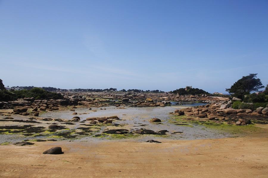 La plage de Saint-Guirec
