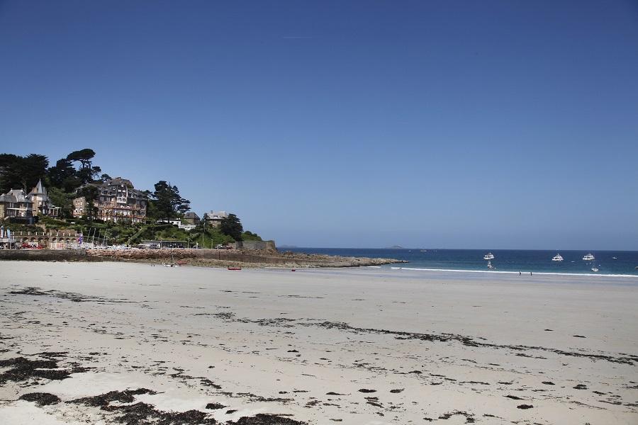 Grandes plages à Perros-Guirec