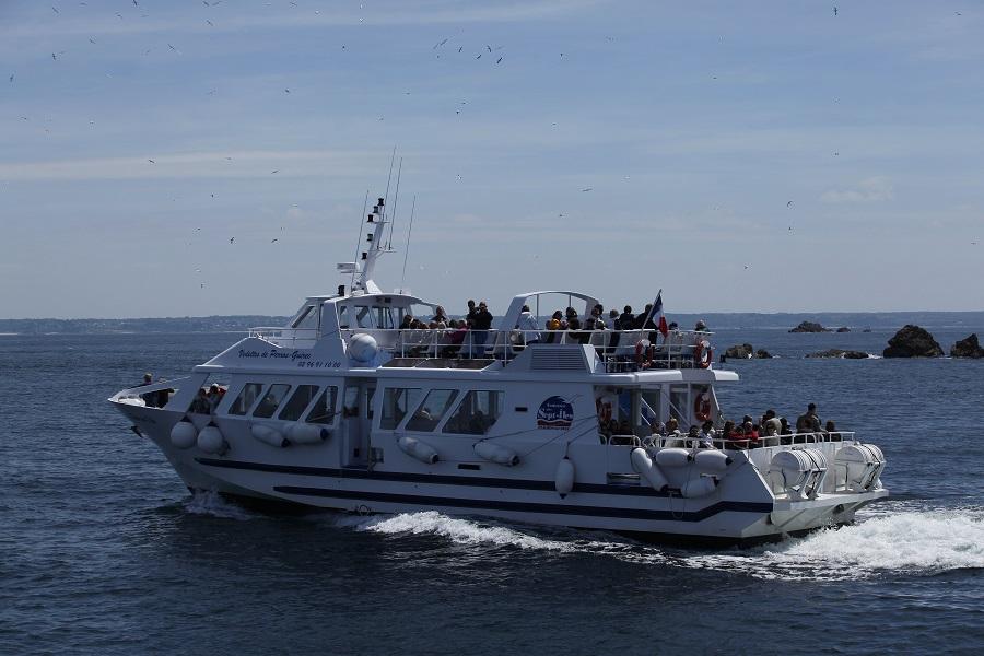 Embarquez pour l'île Rouzic