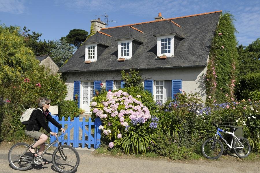 Découvrir l'île de Bréhat en vélo