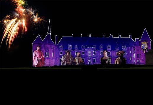 Spectacle Son et Lumière au château de Lapalisse