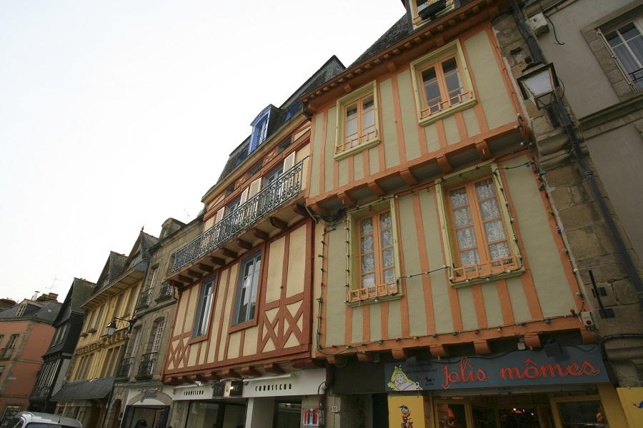 Maisons à pans de bois à Quimper