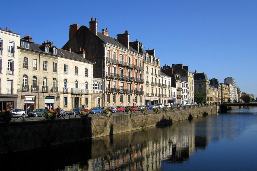 Rennes sur les rives de la Vilaine