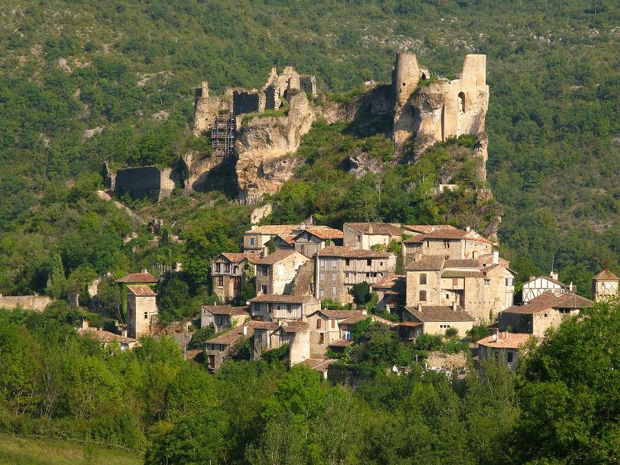 Village médiéval de Penne dans le Tarn