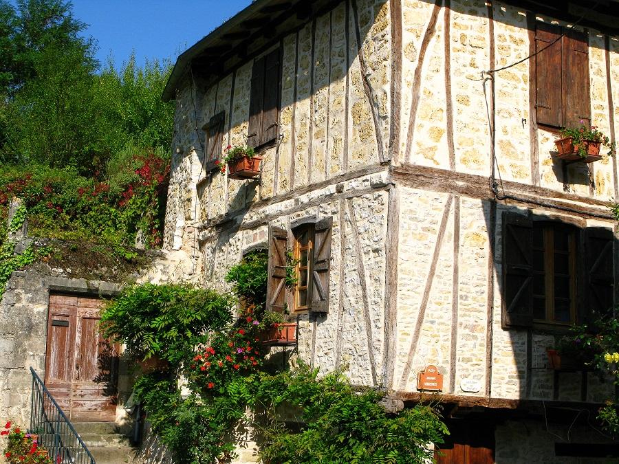 Maison à pans de bois à Penne