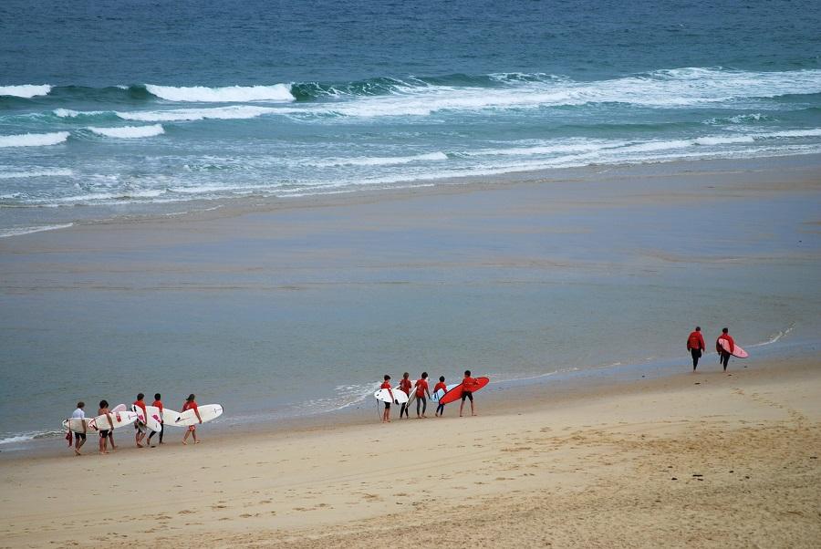 Biscarrosse-Plage, spot de surf