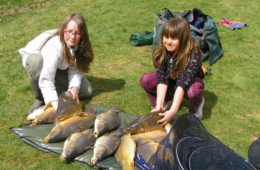 Initiation à la pêche pour les enfants