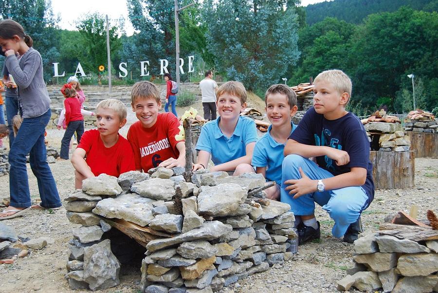 Construction de cabanes en pierre sèche