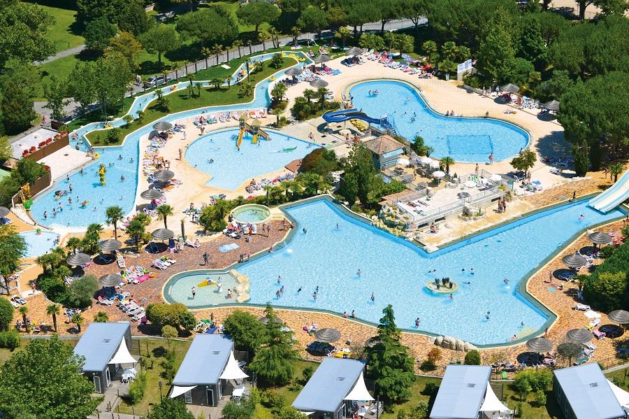 Aquaparc du Castel Camping Séquoia Parc en Charente-Maritime