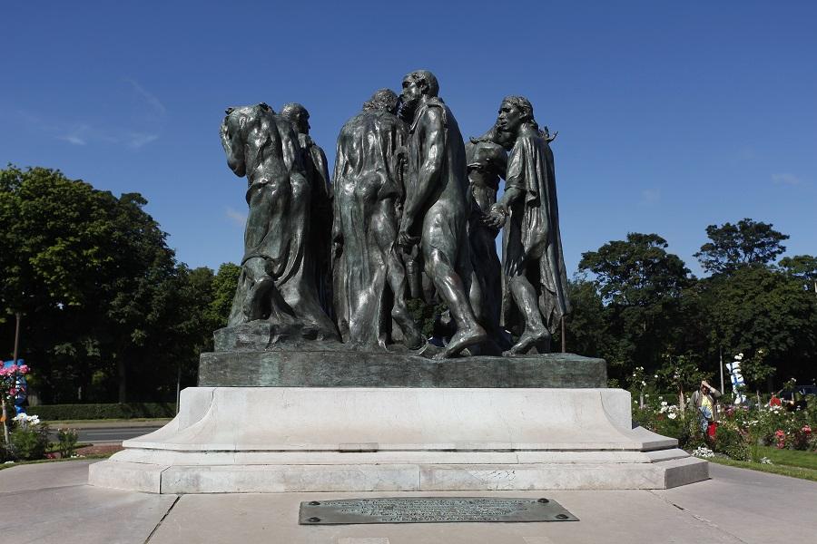 Le monument des Bourgeois de Calais