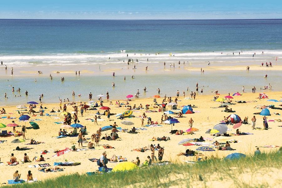Accès direct à la plage depuis les campings de Charente-Maritime