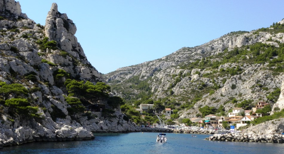 Camping In Les Calanques