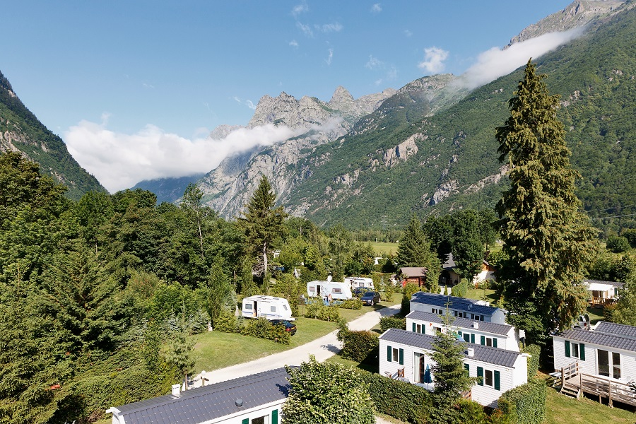 Camping de charme à la montagne