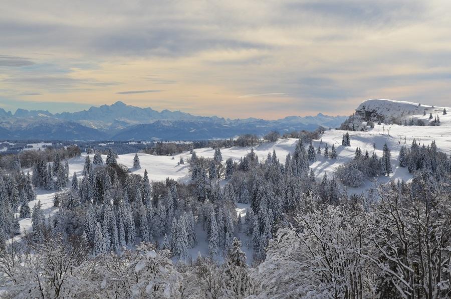 Métabief dans le Jura