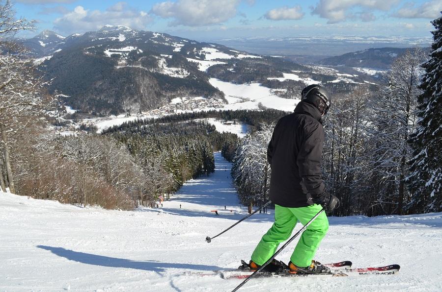La station de ski de Métabief (Jura)