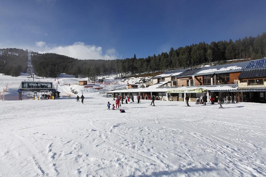 La station de ski de Formiguères