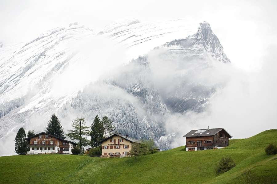 Schoppernau en Autriche