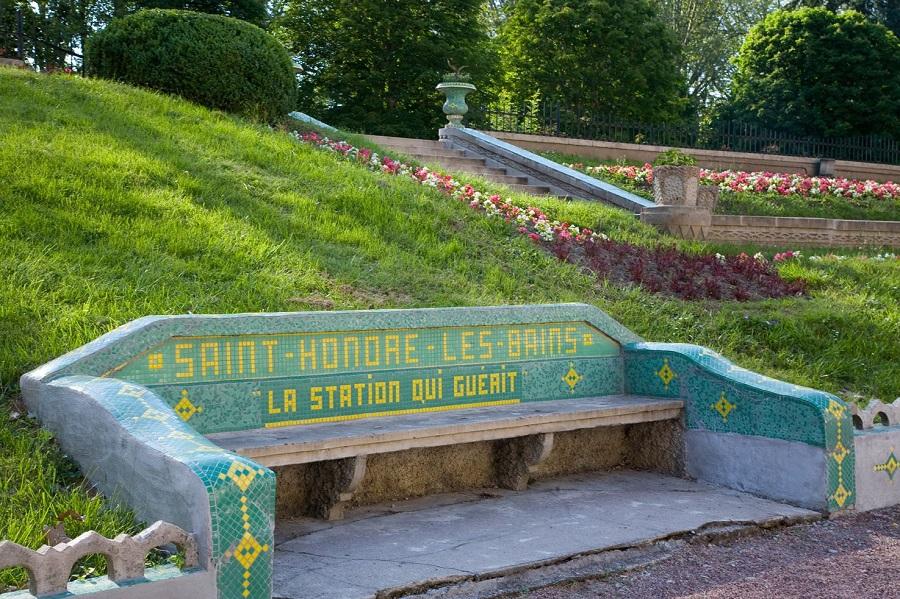 La station thermale de Saint-Honoré-les-Bains