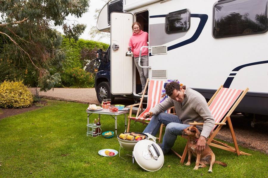 Faire du camping avec son chien