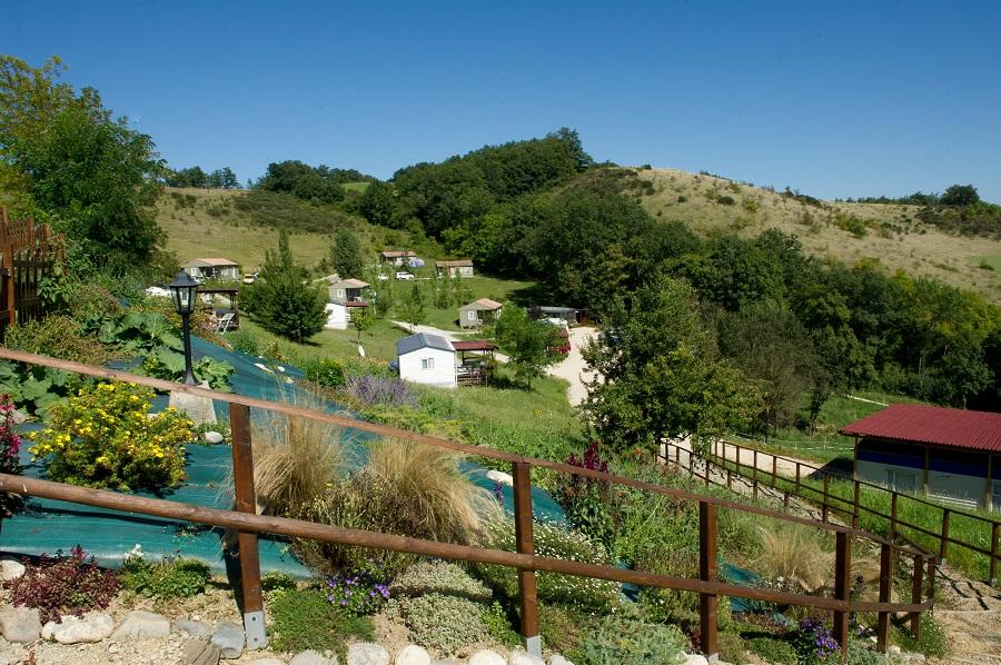Camping Le Bourdieu en Ariège