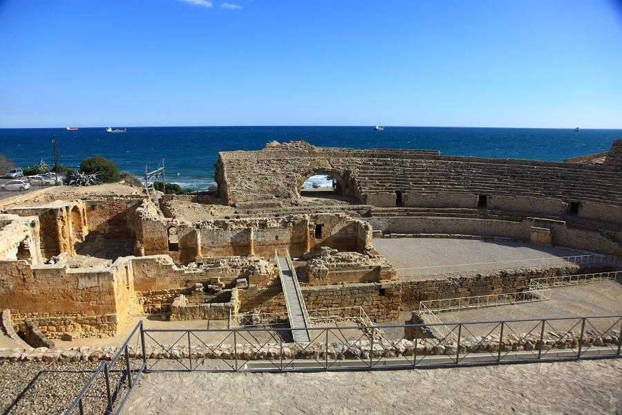 L'amphithéâtre romain de Tarragone