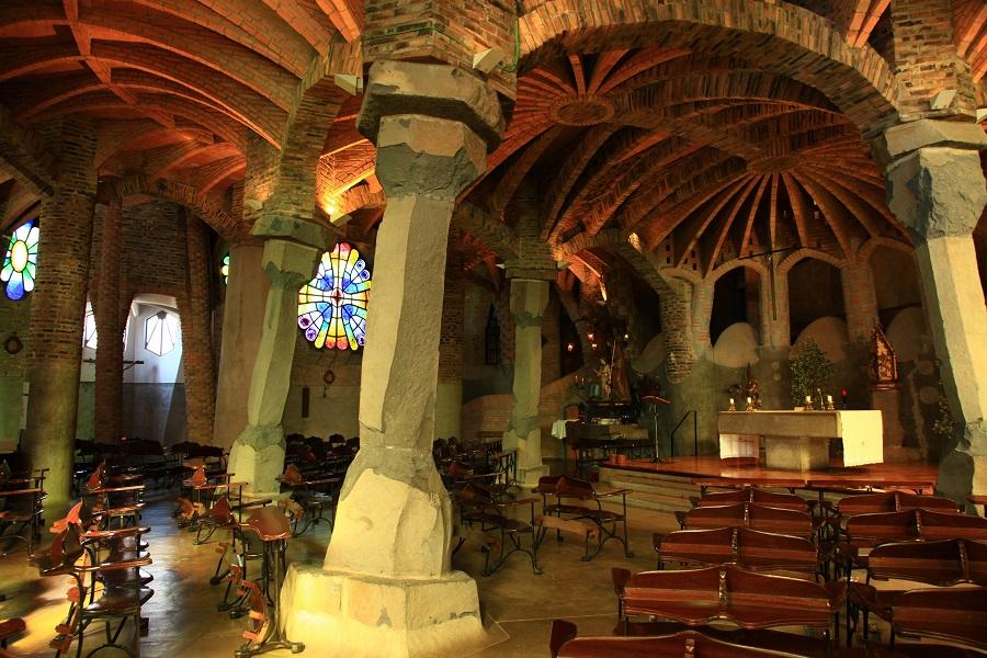Crypte de l'église de Santa Coloma de Cervello