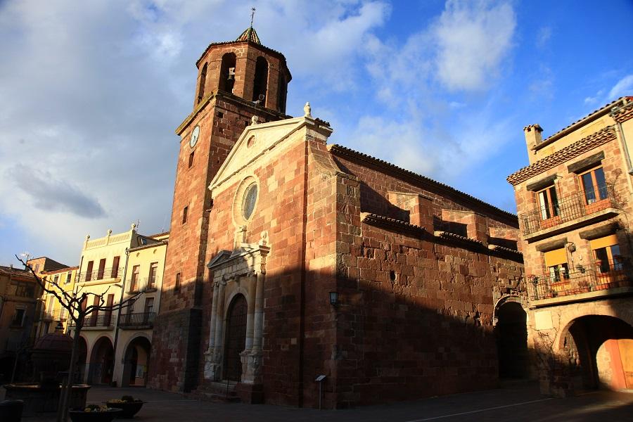 L'église de Santa Maria la Major de Prades