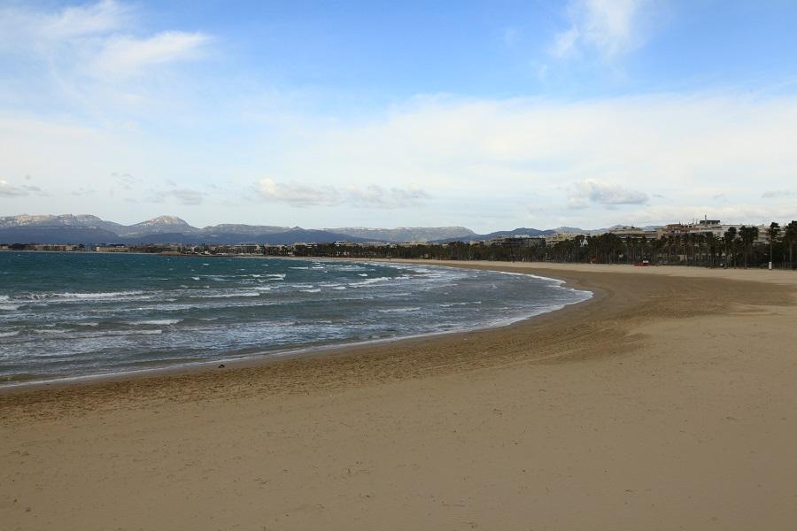 La plage de Salou