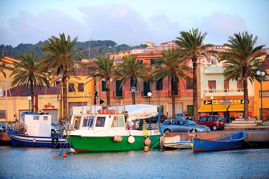 Sur l'île de Sant'Antioco en Sardaigne