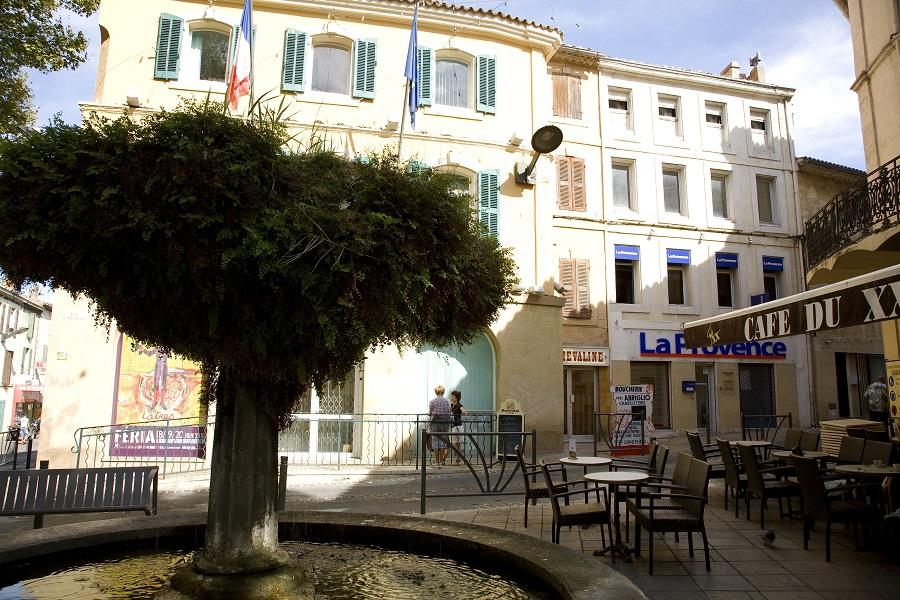 Le centre historique d'Istres