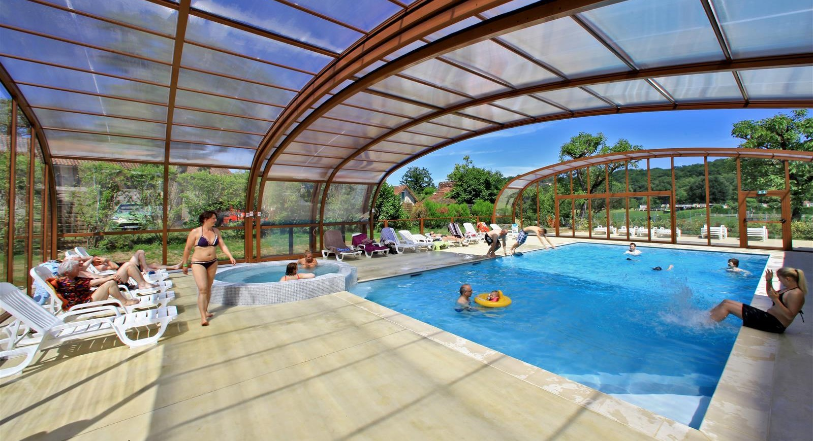 Camping dordogne avec piscine chauff e vos vacances en - Maison vacances dordogne avec piscine ...
