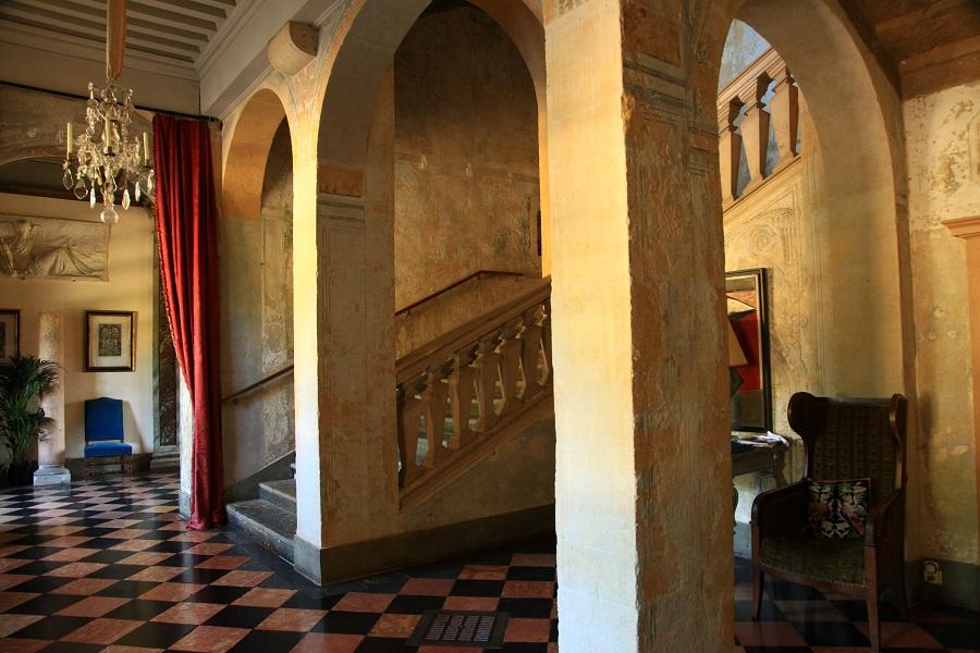 Le château de Fléchères  à Fareins