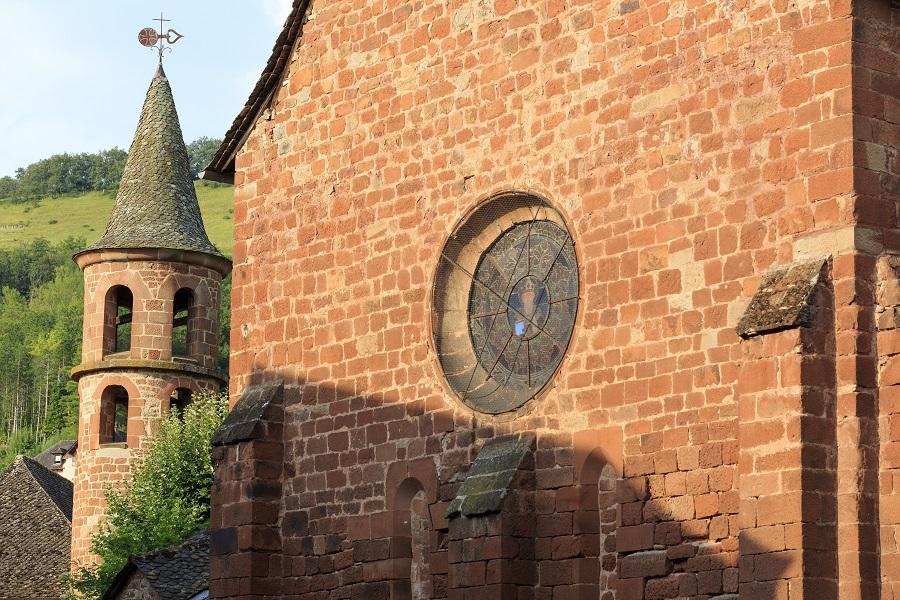 L'église Saint-Martial de Marcillac