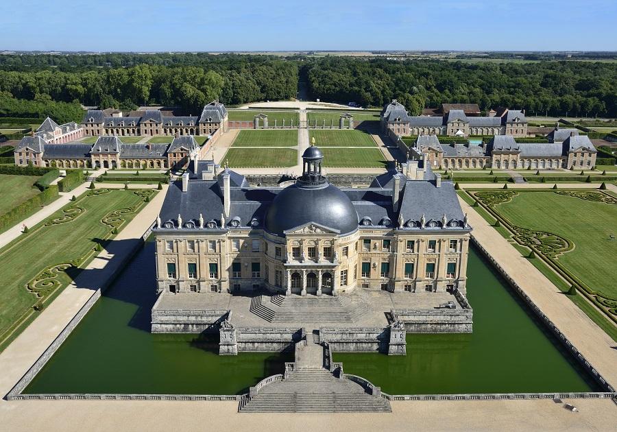 Vaux-le-Vicomte, château emblématique français