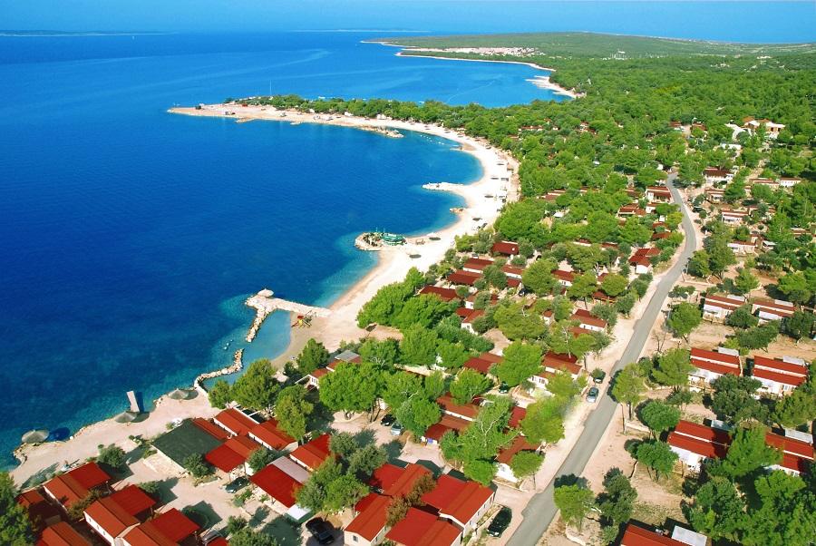 Camping Village Šimuni en Croatie