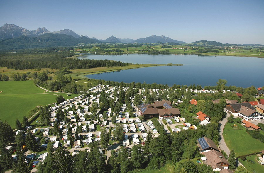 Camping Hopfensee en Allemagne