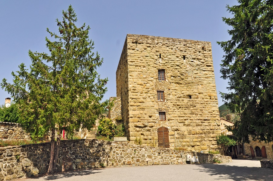 La tour sarrasine de Rosans