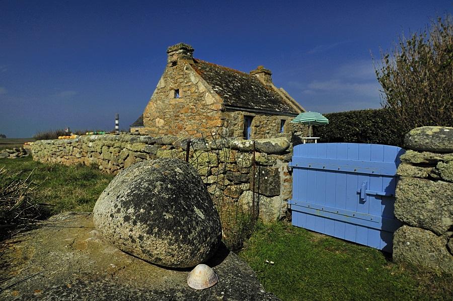 Maison traditionnelle de l'île d'Ouessant
